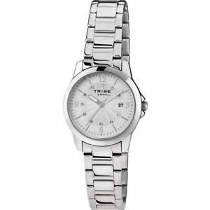 【送料無料】orologio donna breil tribe classic elegance ew0195 acciaio silver swarovski