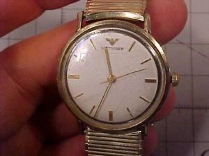 【送料無料】original vintage wittnauer mans wristwatch