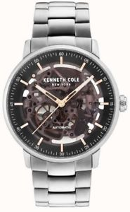 【送料無料】kenneth cole gents automatic skeleton watch kcnp kc15104004