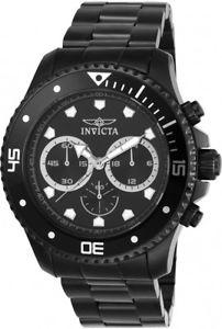 【送料無料】invicta mens pro diver quartz chronograph 100m stainless steel watch 21792