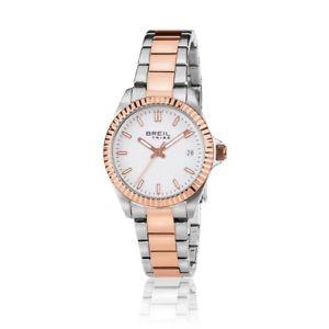 【送料無料】orologio breil tribe classic elegance donna ew0240 watch oro rosa silver ragazza