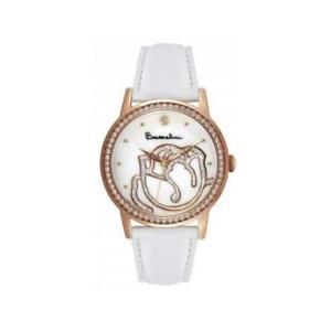 【送料無料】orologio donna braccialini brd 809s2bb pelle bianco ros swarovski