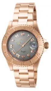 【送料無料】invicta womens angel swiss quartz 200m rose gold stainless steel watch 14368