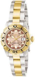 【送料無料】invicta womens pro diver quartz stainless steel two tone watch 14370