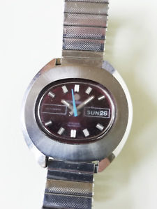 【送料無料】rare 1970s vintage tressa swiss automatic watch ref 613