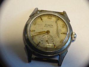 【送料無料】vintage mouvement de montre mcanique dilecta 15 rubis cal 238