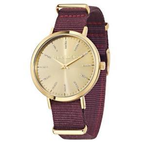 【送料無料】orologio donna morellato versilia r0151133502 tessuto bordeaux gold swarovski