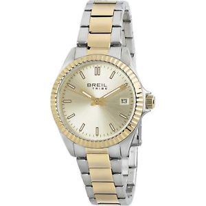 【送料無料】orologio donna breil solotempo classic elegance oro e acciaio silver ew0219