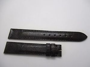 【送料無料】bracelet montre lzard marron t 15 haute gamme camille fournet
