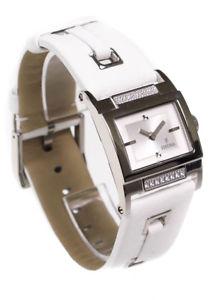【送料無料】festina watch ladies swarovski white leather strap f163251