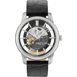 【送料無料】kenneth cole gents automatic skeleton watch kcnp kc15116001