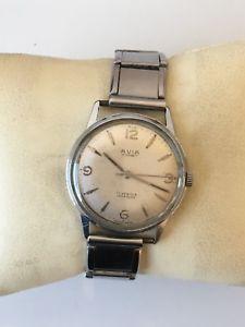 【送料無料】vintage gents 1960s avia cadet hand winding wrist watch