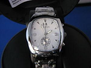 【送料無料】croton model cr307385sssl swiss quartz chronograph date watch msrp 90000