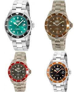 【送料無料】invicta mens pro diver stainless steel 3 hand watch