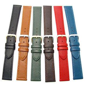 【送料無料】condor flat lizard grain leather watch strap 177r 16mm 18mm 20mm