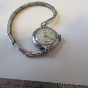 【送料無料】wrist watch womens elco 17 jewels swiss not running broken spring stay bright