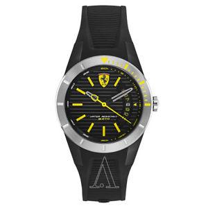 【送料無料】ferrari red rev t mens quartz watch 840015