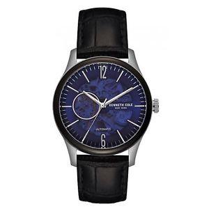 【送料無料】kenneth cole kc50224001 mens automatic skeleton wristwatch