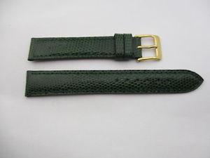 【送料無料】bracelet en lezard vert camille fournet taille 15