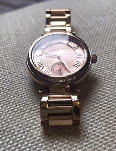 【送料無料】michael kors mk5971 stainless steel rosegold watch
