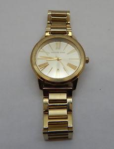 【送料無料】michael kors womens mk3490 hartman goldtone stainless steel watch r19023