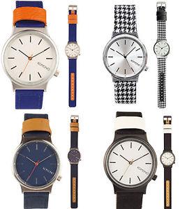 【送料無料】orologio uomo komono wizard heritage series donna watch vintage orologi