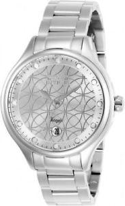 【送料無料】27437 invicta 38mm womens angel quartz 100m stainless steel watch