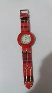 【送料無料】orologio donna teen ager bracciale in pelle sole p206