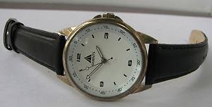 【送料無料】axxents quartz watch with leather strap