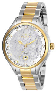 【送料無料】27436 invicta 38mm womens angel goldtone and silver stainless steel watch