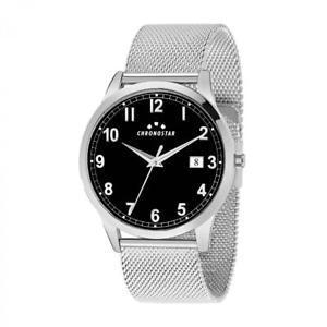 【送料無料】orologio multifunzione uomo chronostar by sector romeow r3753269004 acciaio