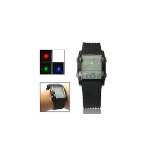 【送料無料】orologio digitale doppio display lcd led nero