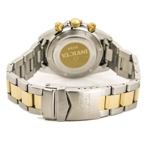 invicta 9224 mens speedway two tone steel watch