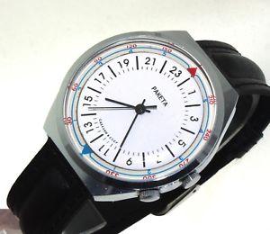 【送料無料】raketa 24 ore orologio russo russian watch