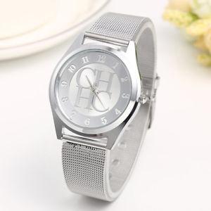 【送料無料】gold geneva casual quartz watch women metal mesh stainless steel dress wrist