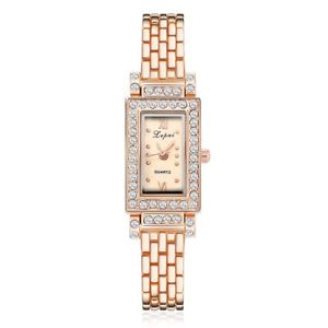 【送料無料】women bracelet watches rectangle crystal dress wristwatch for ladies luxury s
