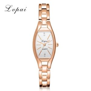 【送料無料】lvpai luxury rose gold quartzwatches women fashion bracelet watch ladies si