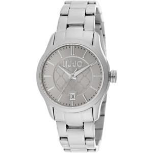 【送料無料】orologio donna liu jo luxury tess tlj1225 bracciale acciaio grigio