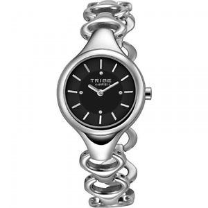 【送料無料】orologio breil tribe daisy donna ew0188 watch nuovo nero ragazza braccialato