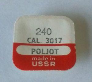 【送料無料】poljot cal 3017 240 canon pinion