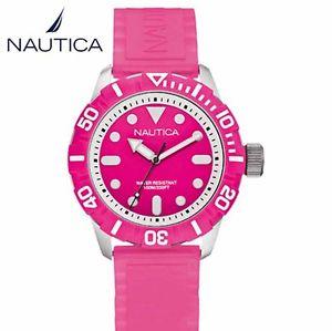 【送料無料】orologio nautica donna a09607g nsr 100