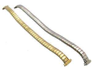 【送料無料】replacement expanding watch bracelet stainless steel ladies size 9mm11mm c073
