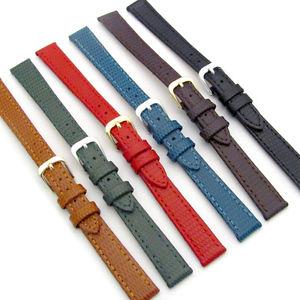 【送料無料】condor ladies flat lizard grain leather watch strap 177r 10mm 12mm 14mm