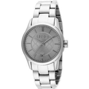 【送料無料】*mistery gift* orologio donna liu jo luxury tess tlj884 bracciale acciaio grigio