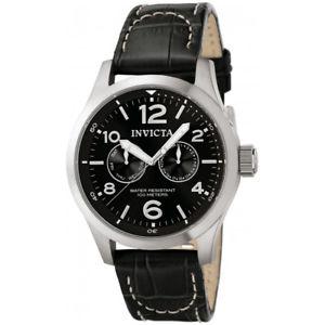 【送料無料】invicta iforce 0764 leather watch
