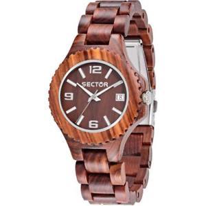 【送料無料】*mistery gift* orologio donna sector nature r3253478014 legno bracciale marrone