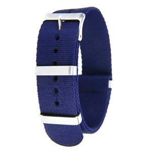 【送料無料】neues angebot*top qualit* bracelet nato nylon plongee 22 mm montre ancienne divers chrono