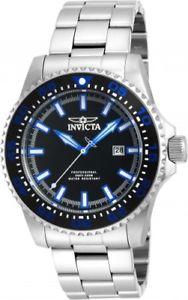 【送料無料】invicta mens pro diver steel bracelet amp; case quartz analog watch 90190