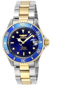 【送料無料】invicta 8928ob mens two tone automatic coin edge bezel watch