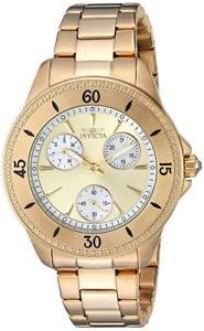 【送料無料】invicta womens angel quartz and stainless steel casual watch 22969